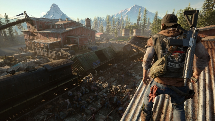 На E3 2017 показали новые кадры геймплея Days Gone