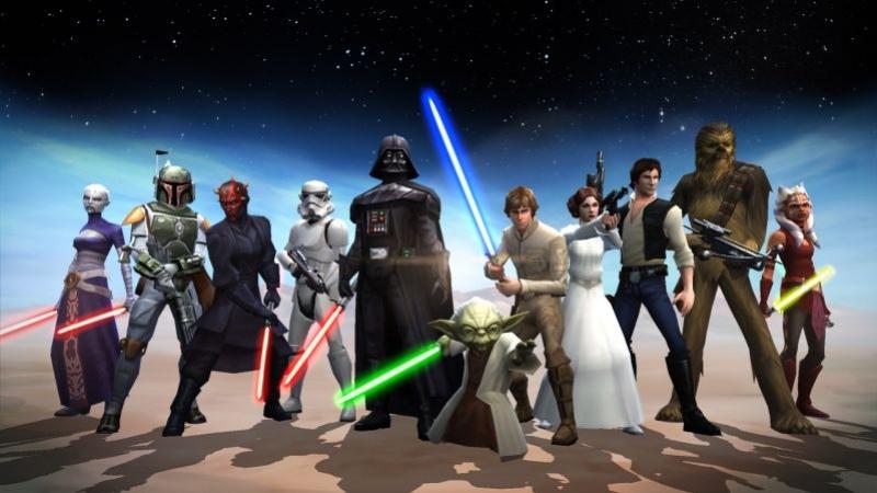 Star Wars: Galaxy of Heroes вышла на мобильных платформах