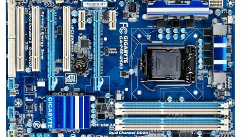 Новые материнские платы Gigabyte на основе чипсетов Intel H55 и H57