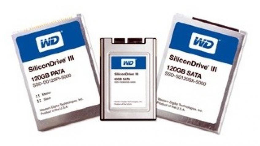 WD начала поставки SSD