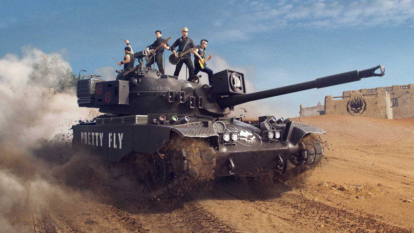 В World of Tanks празднуют выход нового альбома The Offspring