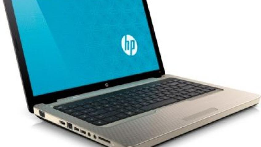 Стильный ноутбук компании HP