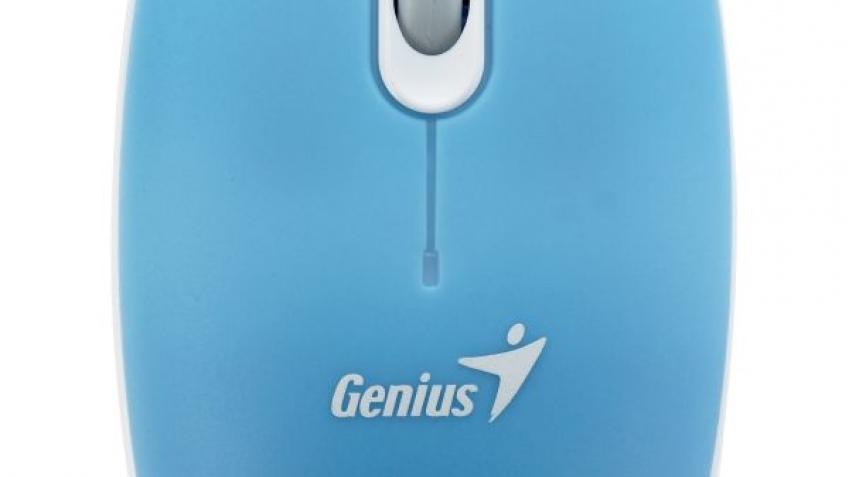 Genius представила простую мышку ScrollToo 200B