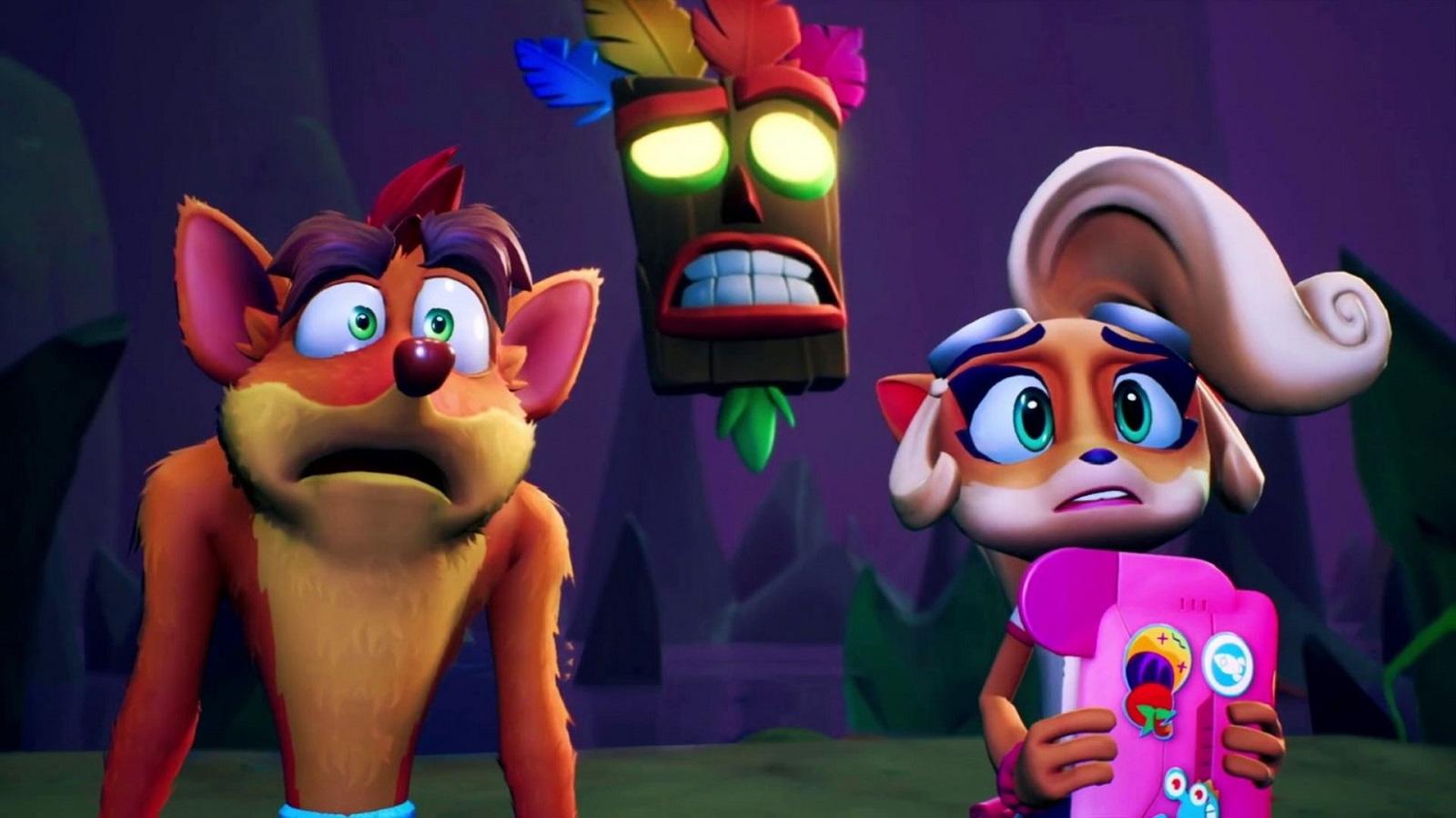 Crash Bandicoot4 теперь сравнили между PS5 и Xbox Series X