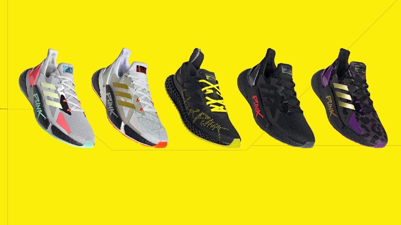 Gorrión Decorar grosor  Adidas представила полную коллекцию кроссовок по Cyberpunk 2077 — Игромания