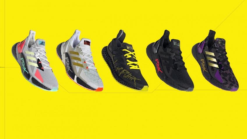 Adidas представила полную коллекцию кроссовок по Cyberpunk 2077