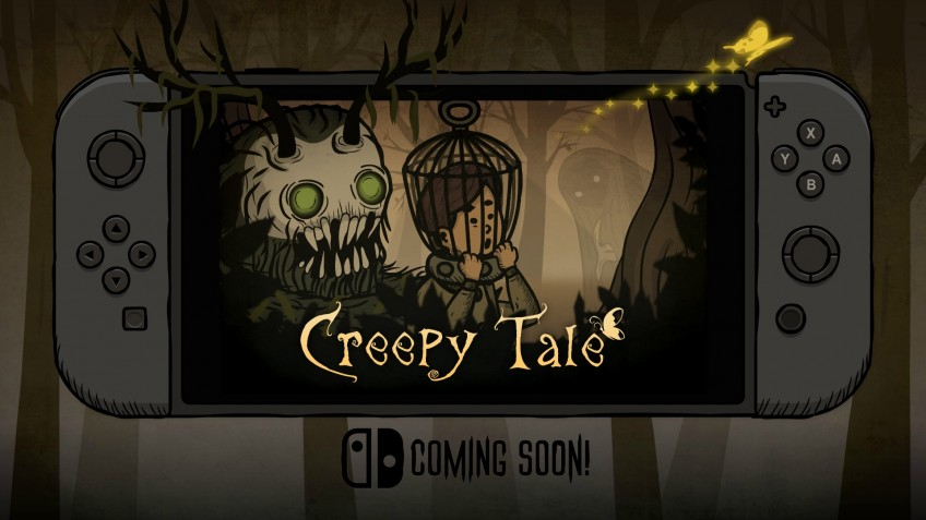 Жуткая головоломка Creepy Tale скоро выйдет на Nintendo Switch