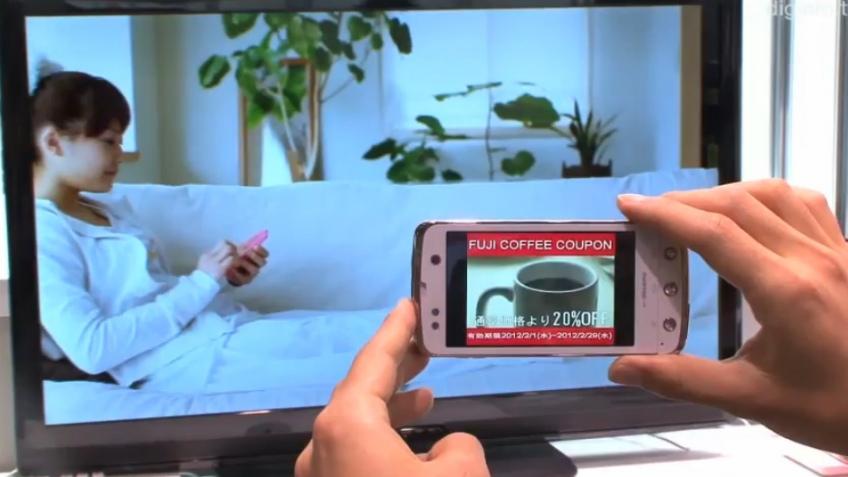 Fujitsu продемонстрировала технологию передачи данных через экран телевизора