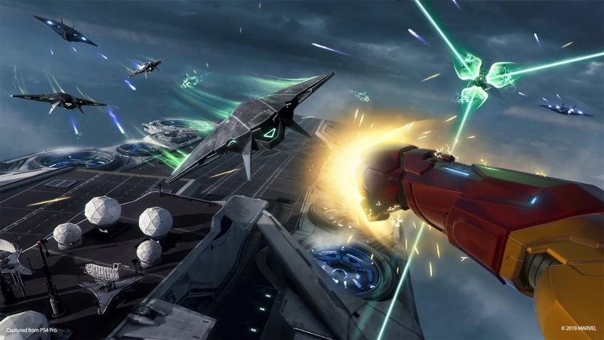 Фрагменты геймплея и дату релиза Marvel's Iron Man VR показали в сюжетном трейлере