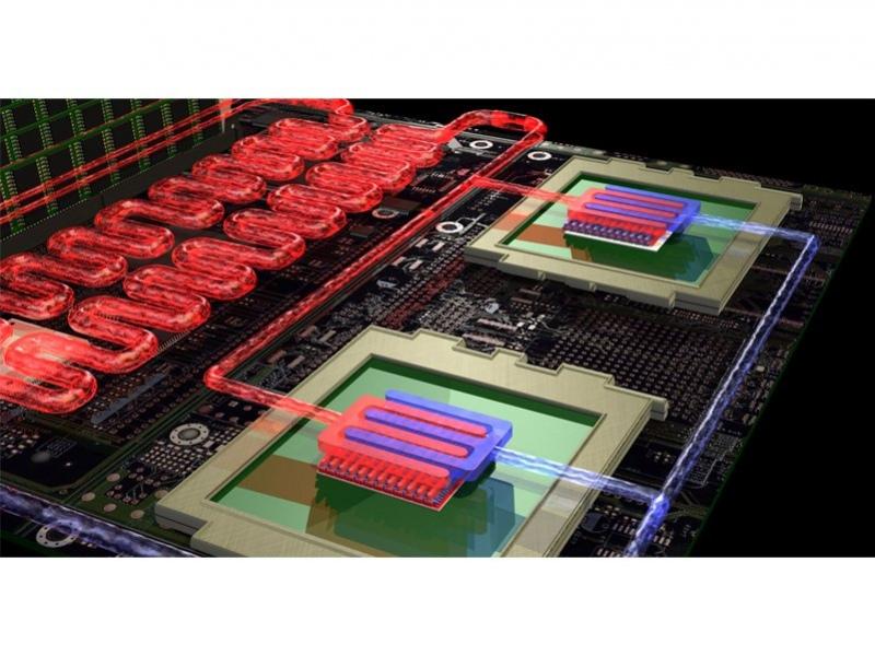 Водяное охлаждение для суперкомпьютера