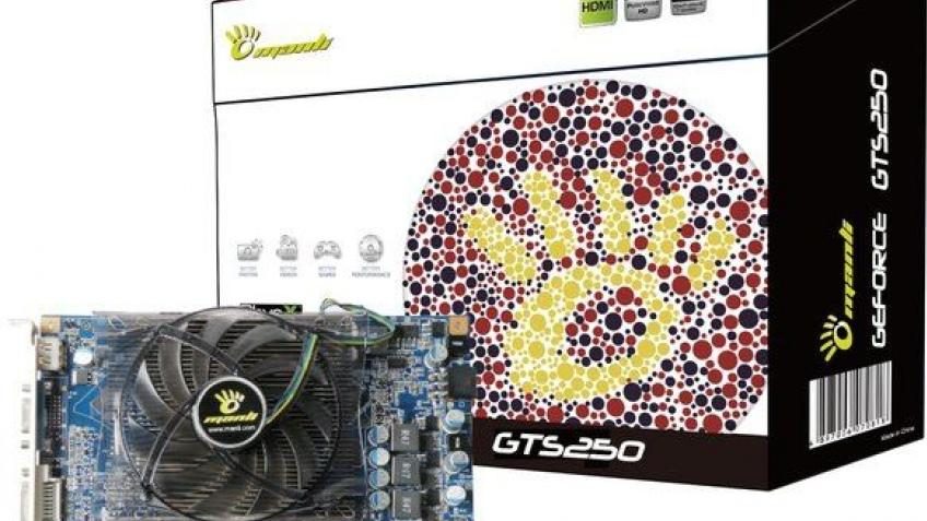 Manli представила модификацию GeForce GTS 250
