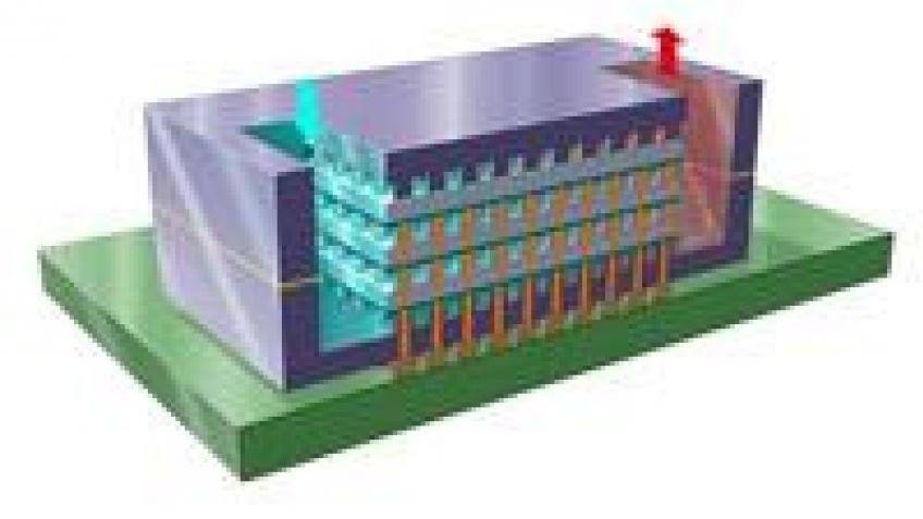 Первый трехмерный процессор