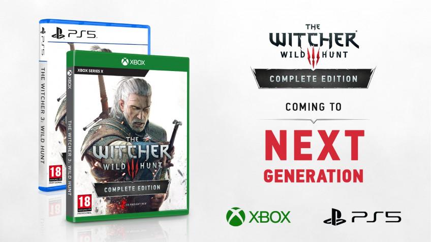Третьего «Ведьмака» бесплатно обновят для PlayStation 5, Xbox Series X и PC