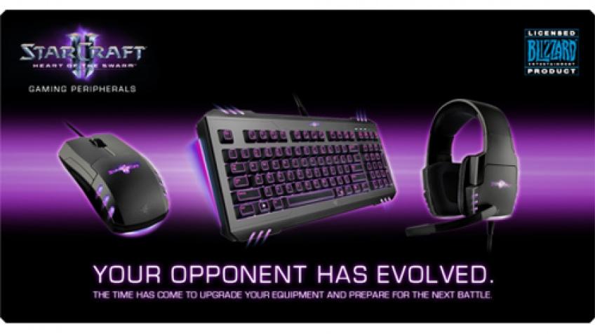 Razer выпустила клавиатуру, мышь и гарнитуру для StarCraft II