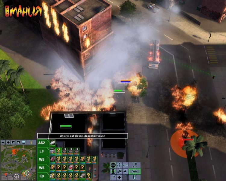 Разгораются новые пожары