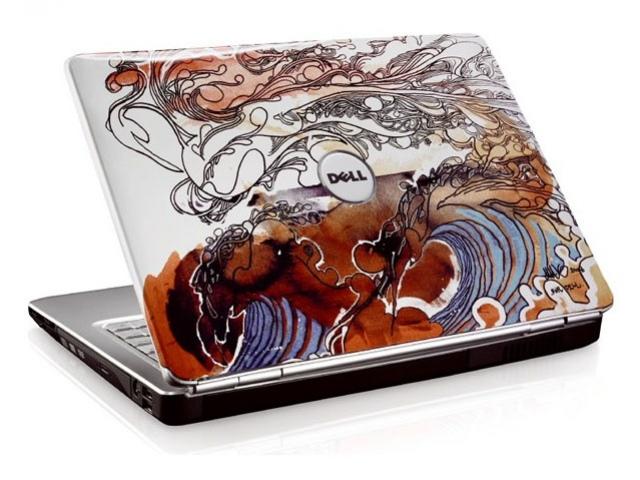Раскрашенный ноутбук от Dell