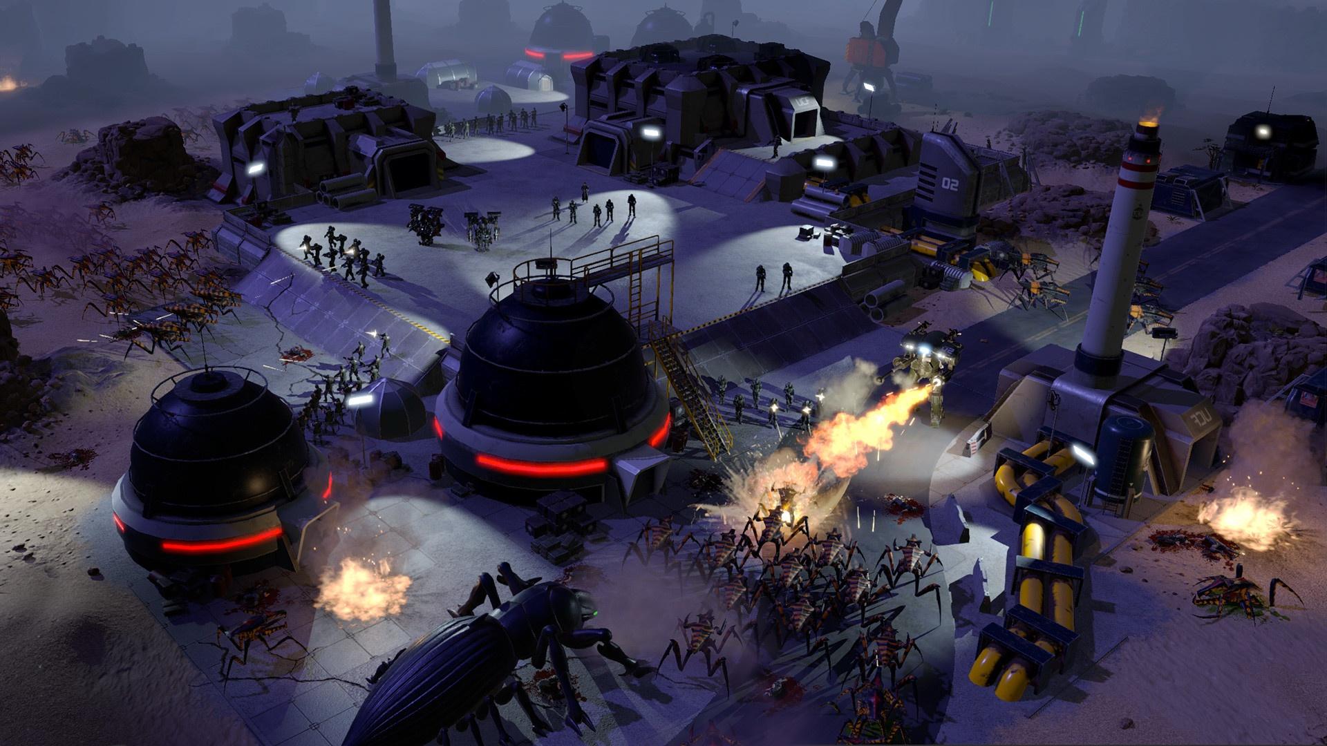 Starship Troopers — Terran Command: готовится новая игра по «Звёздному десанту»