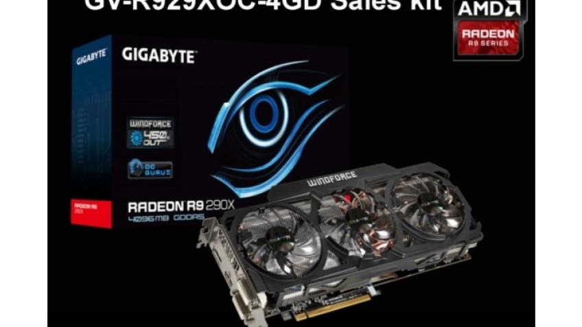Gigabyte готовит Radeon R9 290X OC с WindForce 3X 450W