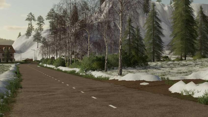 «Сезонную» модификацию к Farming Simulator19 выпустили на консолях