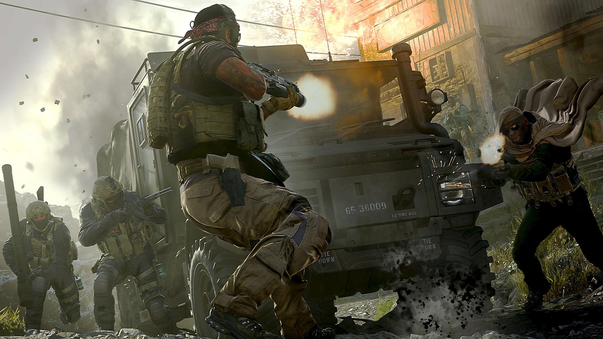 Игрок случайно попал на карту королевской битвы Call of Duty: Modern Warfare