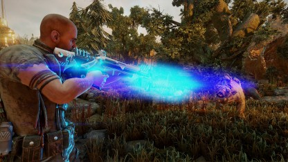12-минутный геймплейный ролик Elex: джетпак, магия и битвы с врагами