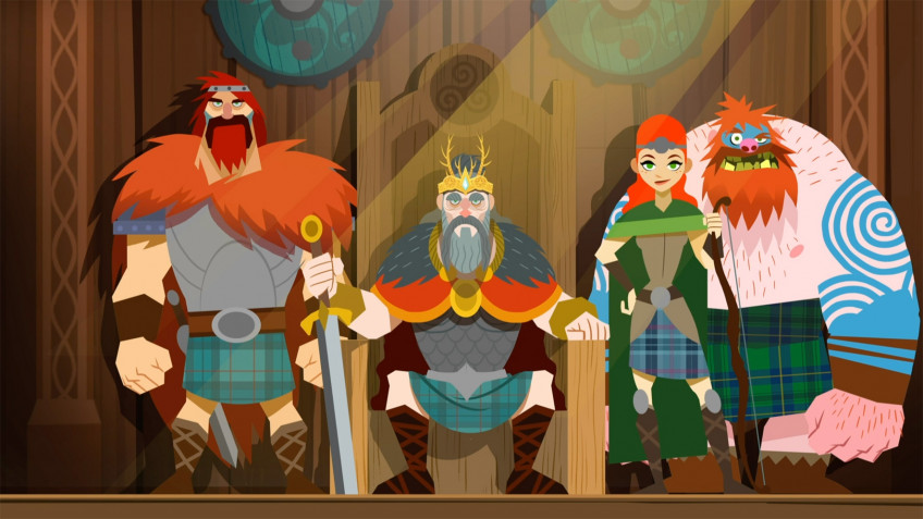 Платформер Clan O'Conall and the Crown of the Stag вынесли на Kickstarter