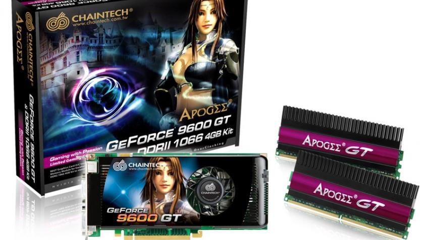 Новое игровое решение от Chaintech – видеокарта и память в комплекте