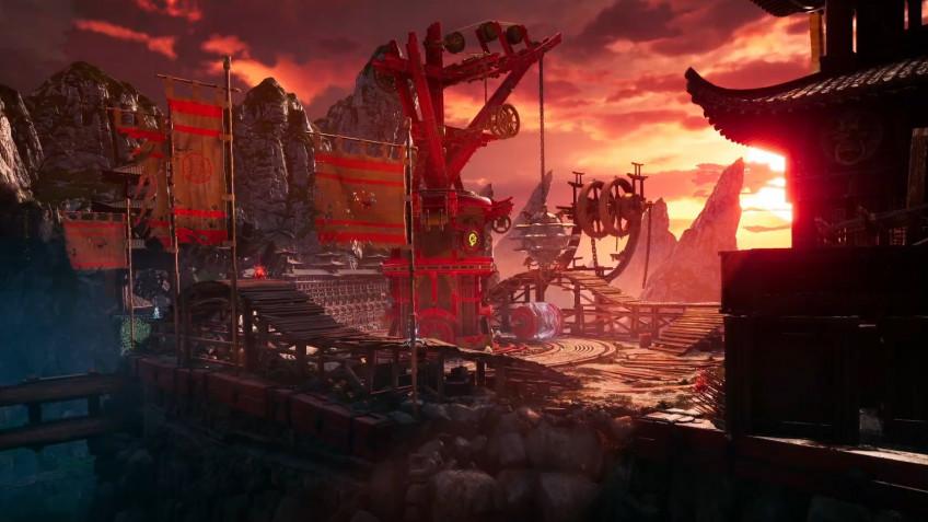 Свежий геймплейный ролик Shadow Warrior3 посвятили уровню That Damn Dam