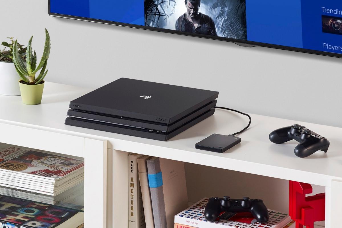 Seagate представила жёсткий диск для PS4