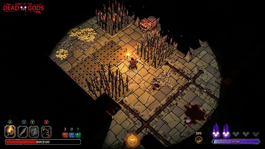 Рогалик Curse of the Dead Gods выйдет в ранний доступ3 марта