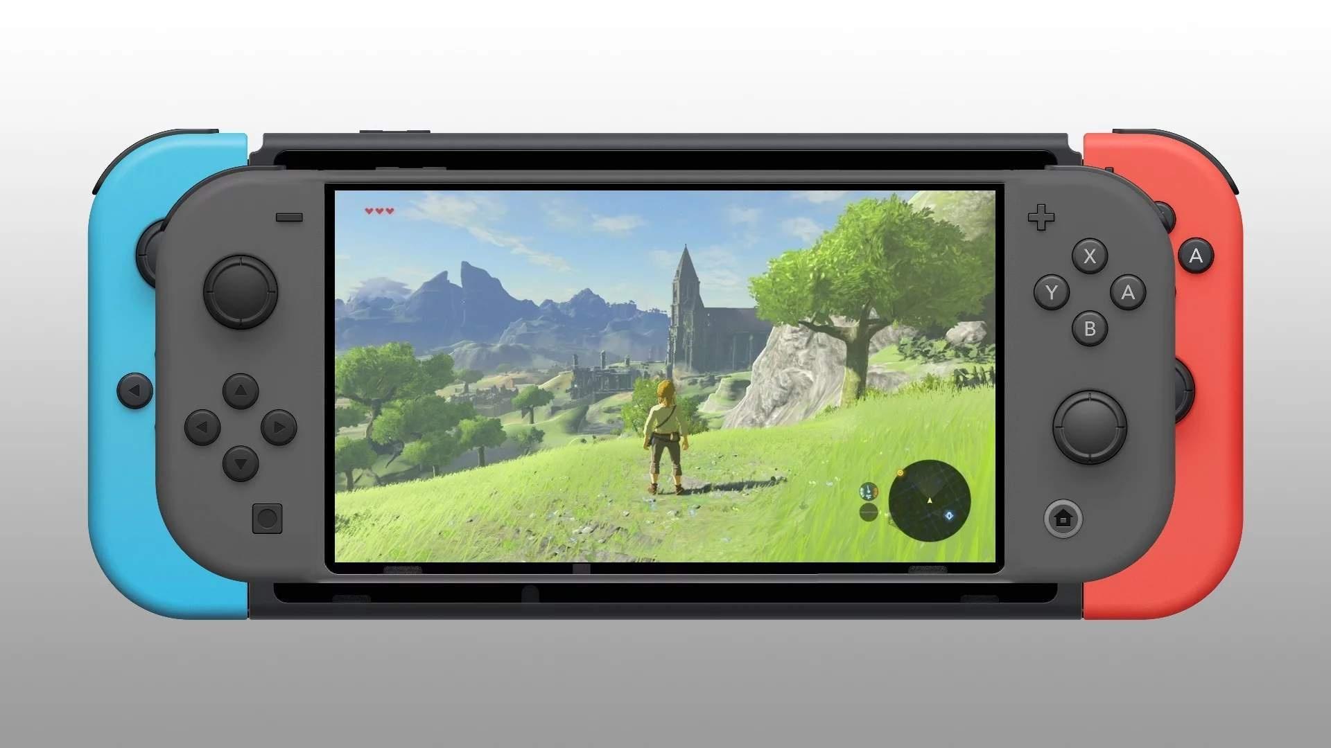 Утечки показывают, как может выглядеть Nintendo Switch Mini