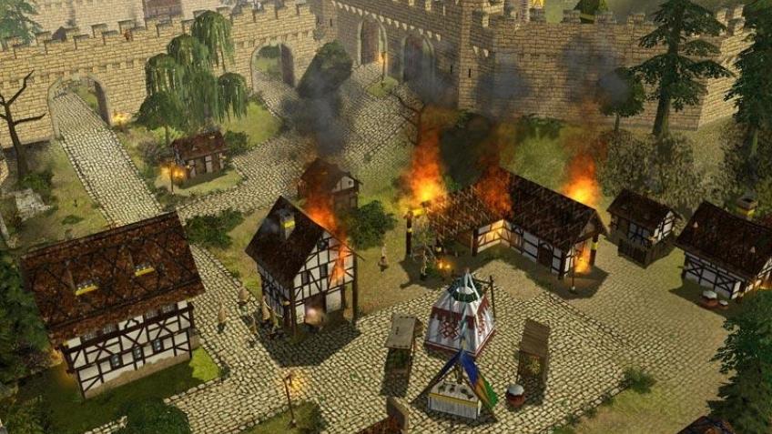 Осада замков началась