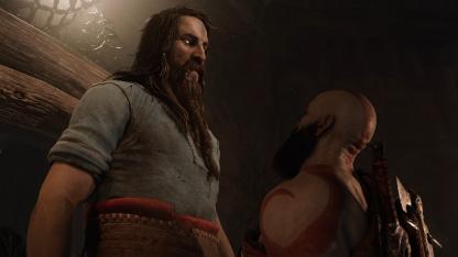 Тюр из God of War: Ragnarok оказался ниже леди Димитреску — почти 257 см
