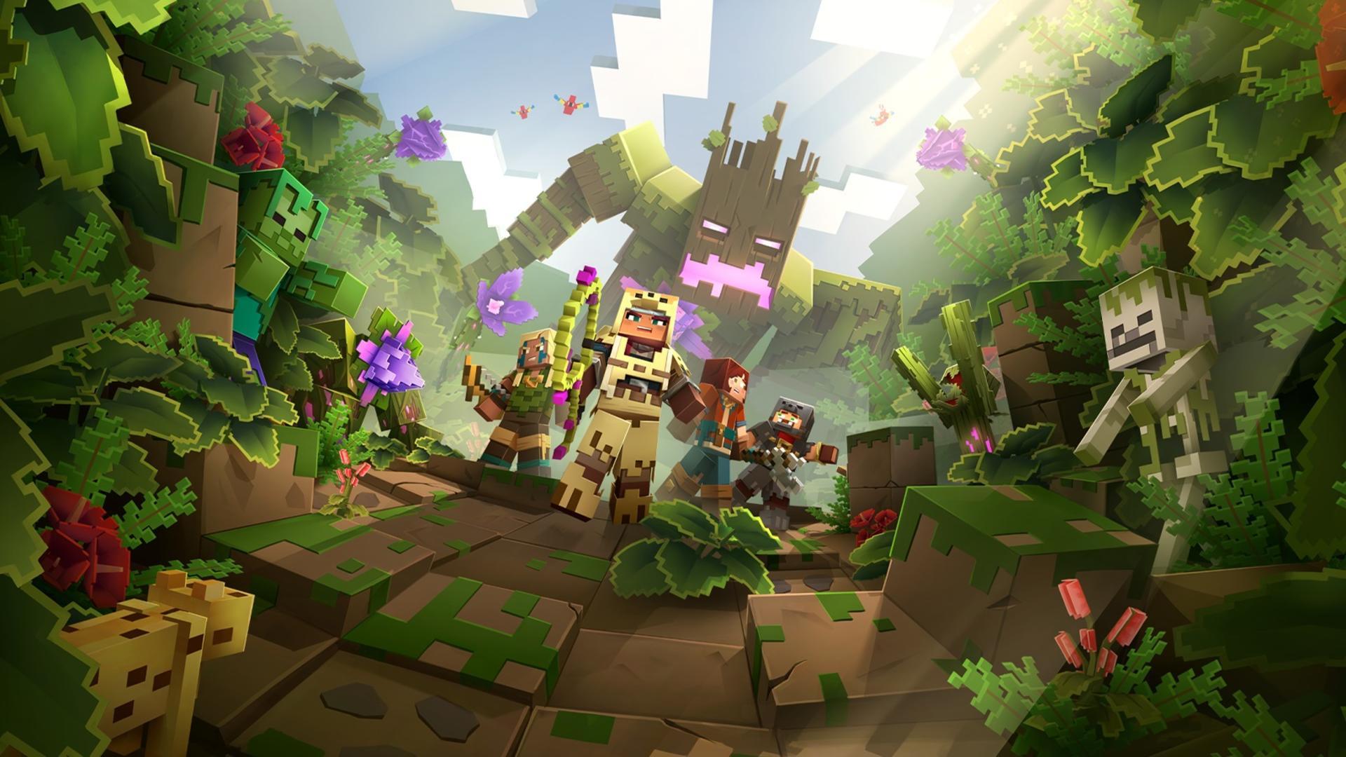 Minecraft Dungeons дебютировала на четвёртой строчке чарта розницы Японии