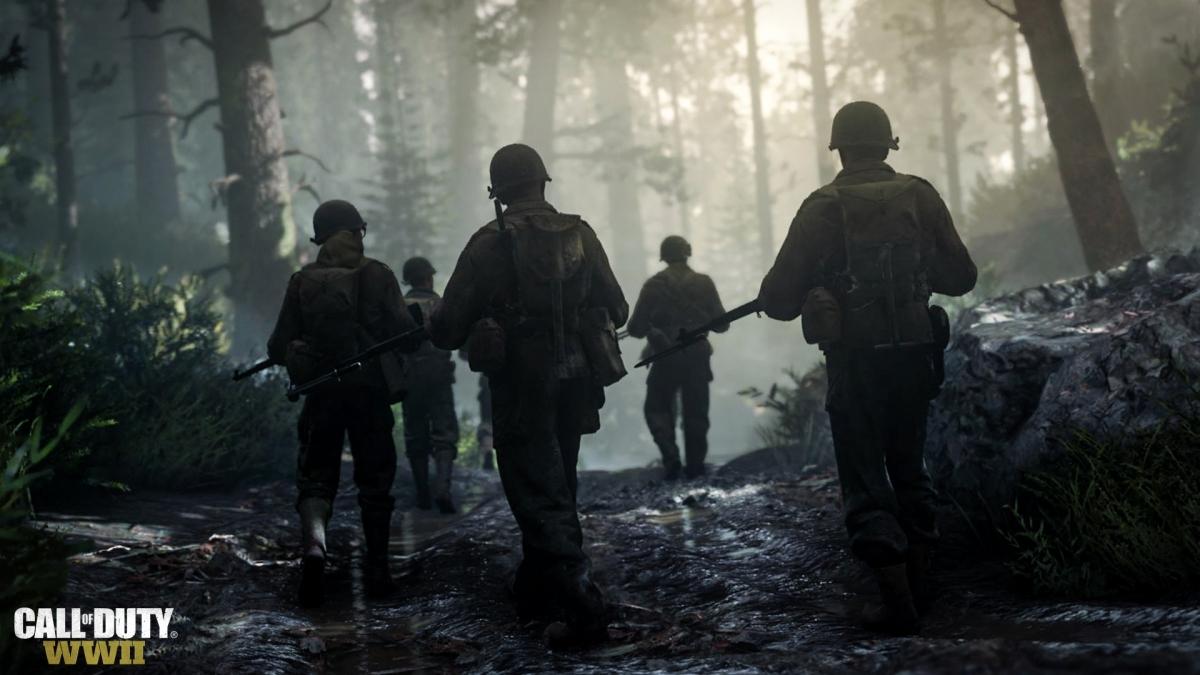 Фракции в мультиплеере Call of Duty: WWII смогут использовать одинаковое оружие