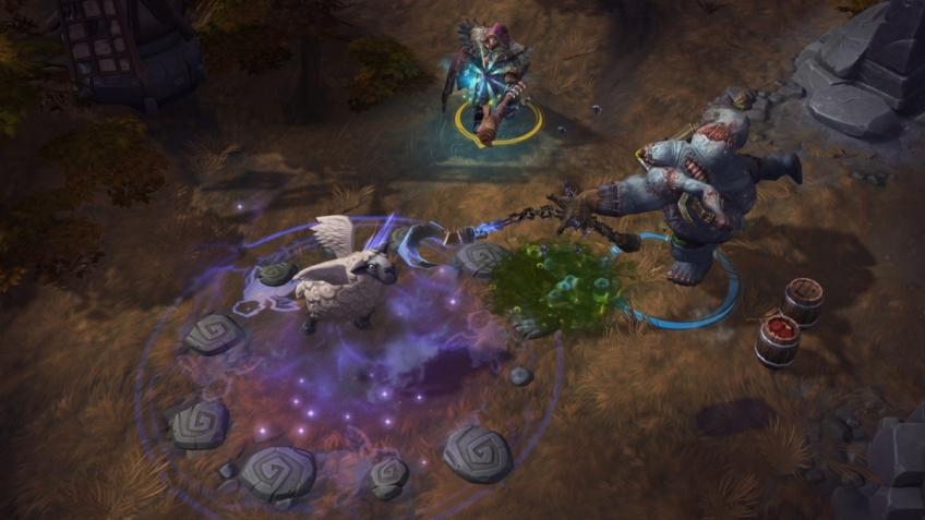 Heroes of the Storm свела вместе двоих игроков