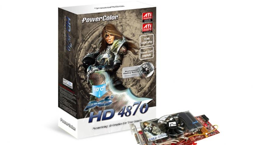 Модификация Radeon HD 4870 от PowerColor
