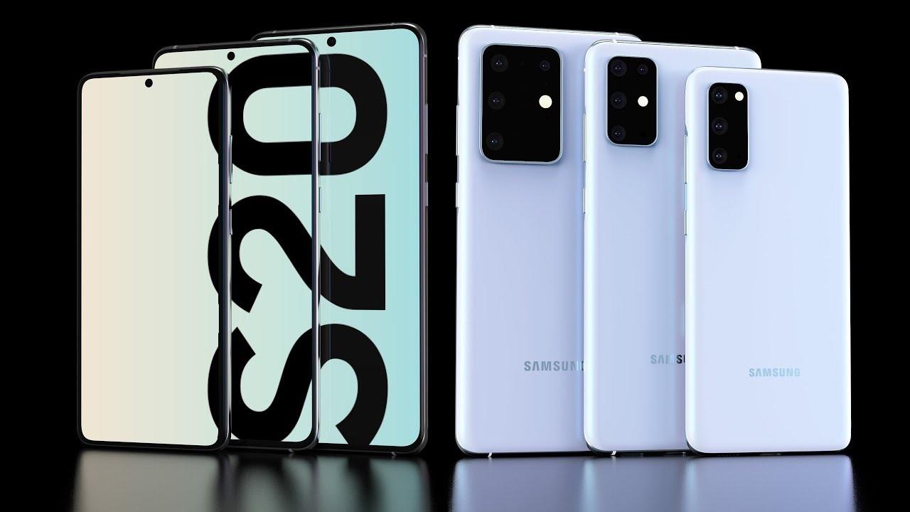Samsung показала трио новых флагманских смартфонов серии Galaxy S20