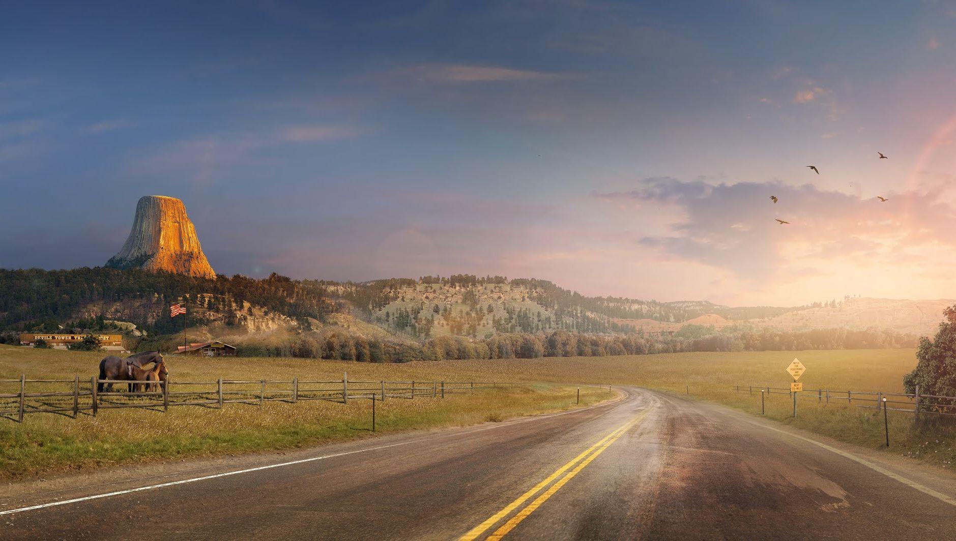 На карте American Truck Simulator появится Вайоминг