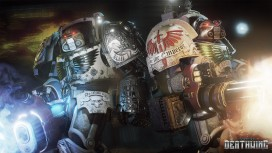 На новых кадрах из Space Hulk: Deathwing герои сражаются плечом к плечу