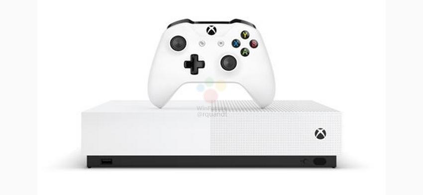 Утечка выдала европейскую цену бездисковой консоли Xbox One S All Digital
