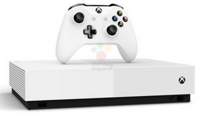 Xbox One SAll Digital: Microsoft готовит консоль без привода Blu-ray