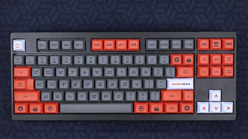 Выпущены кнопки для механических клавиатур в стиле Галактической империи