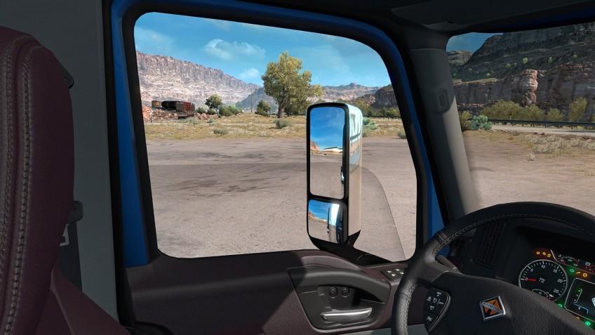 Водителям в American Truck Simulator разрешат открыть окно и погулять по гаражу