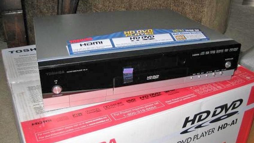 Первые HD DVD плееры в продаже