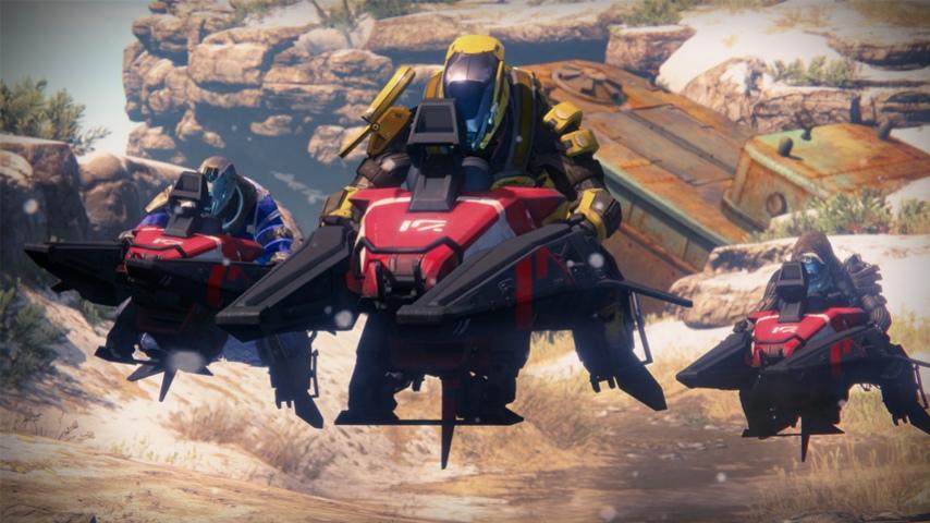 В Destiny могут добавить режим гонок