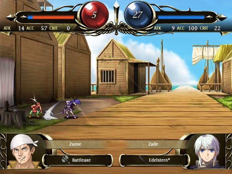 Создатель Fire Emblem выпустил в Steam тактическую ролёвку Vestaria Saga