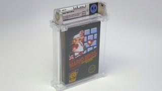 Редкую копию Super Mario Bros. продали на аукционе за 100 тысяч долларов