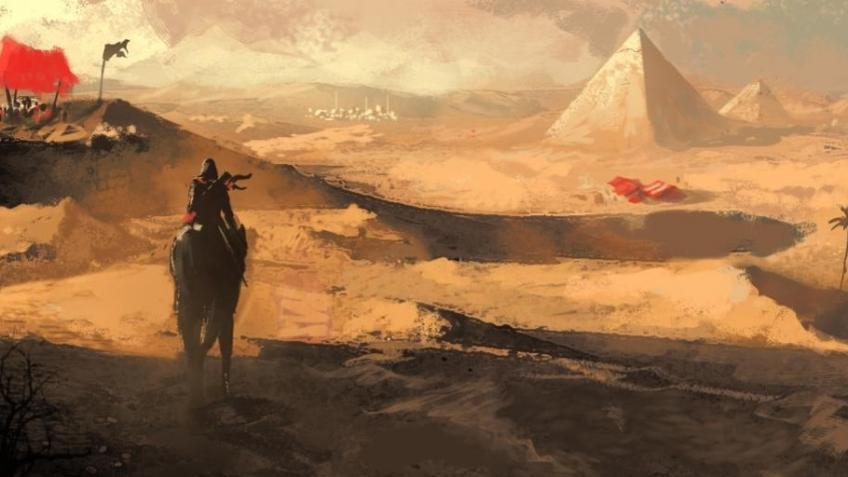 Слух: герой Assassin's Creed: Origins засветился на футболке из GameStop