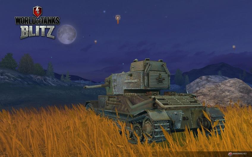 Игроки World of Tanks Blitz соберут к Хэллоуину «Франкенштанк»